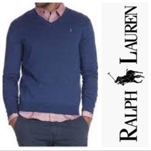 Polo by Ralph Lauren Sweaters - Polo Ralph Lauren Merino Wool V Neck Sweater